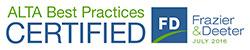 Best Practices Certified